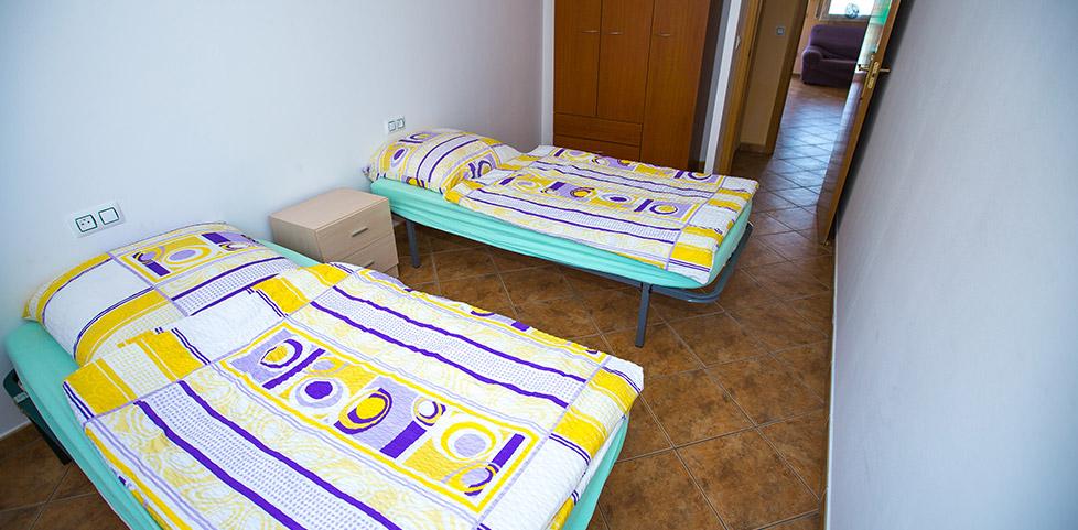 Appartements-Schlafen